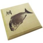 魚拓コースター全16種類(400円)